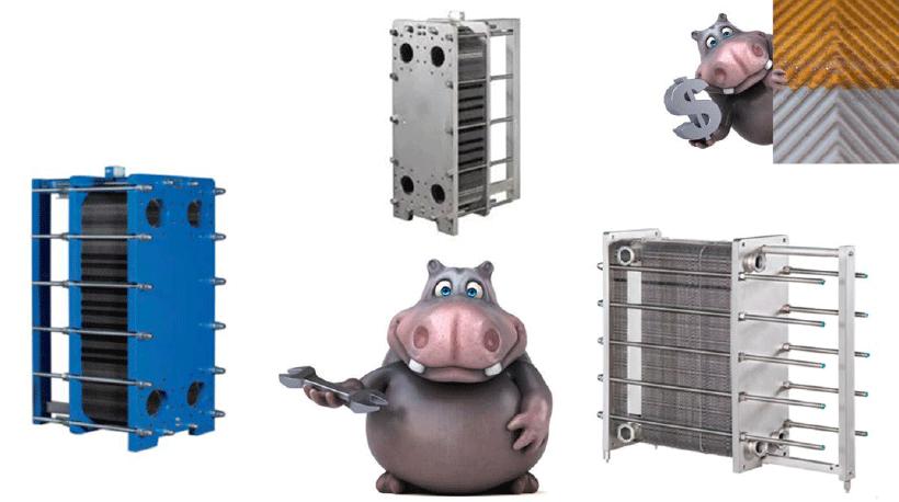 manutenzione scambiatori di calore a piastre