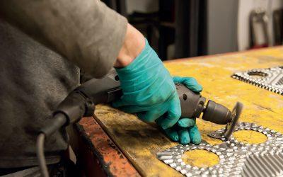 pulizia piastre per scambiatori di calore
