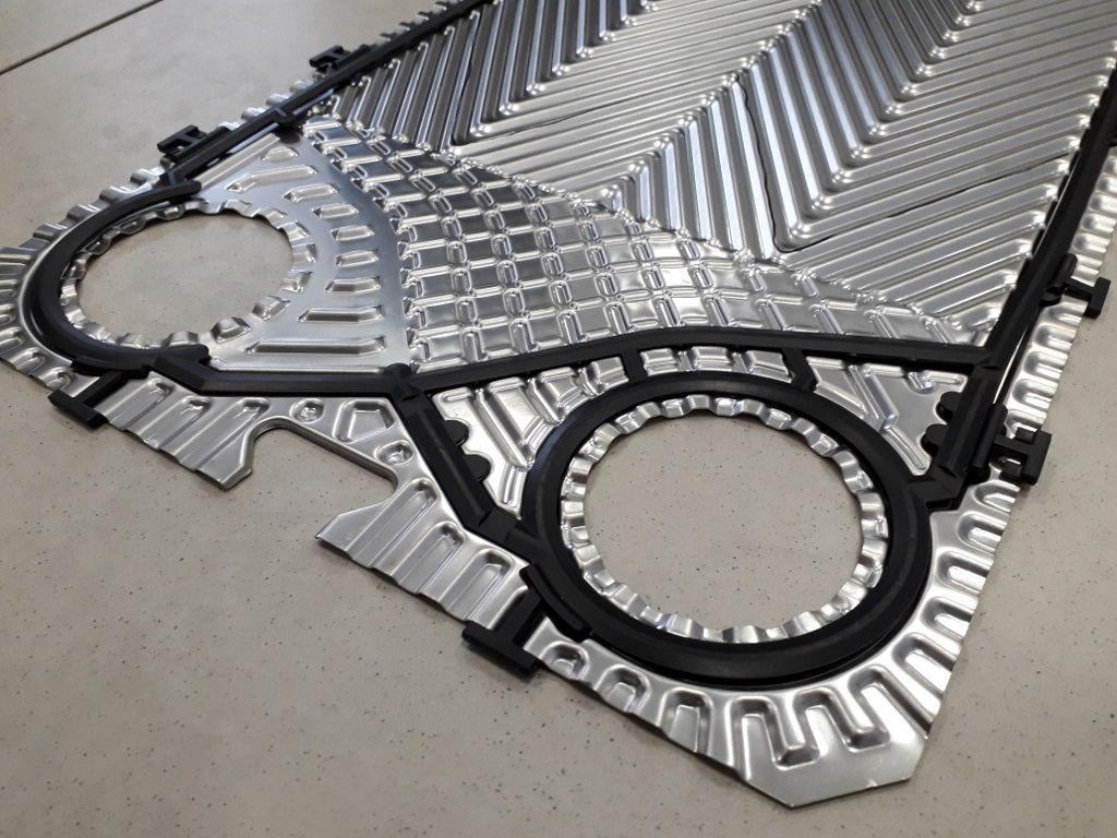 piastre e guarnizioni per scambiatori di calore